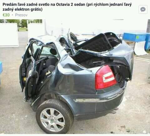 Inzerát Škoda Octavia