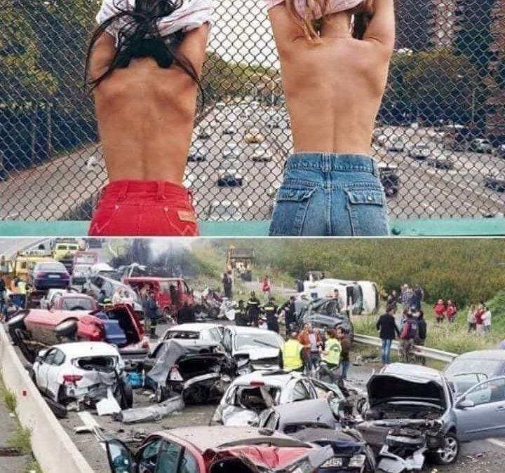 Příčina hromadných dopravních nehod