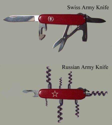 Ruský armádní nůž