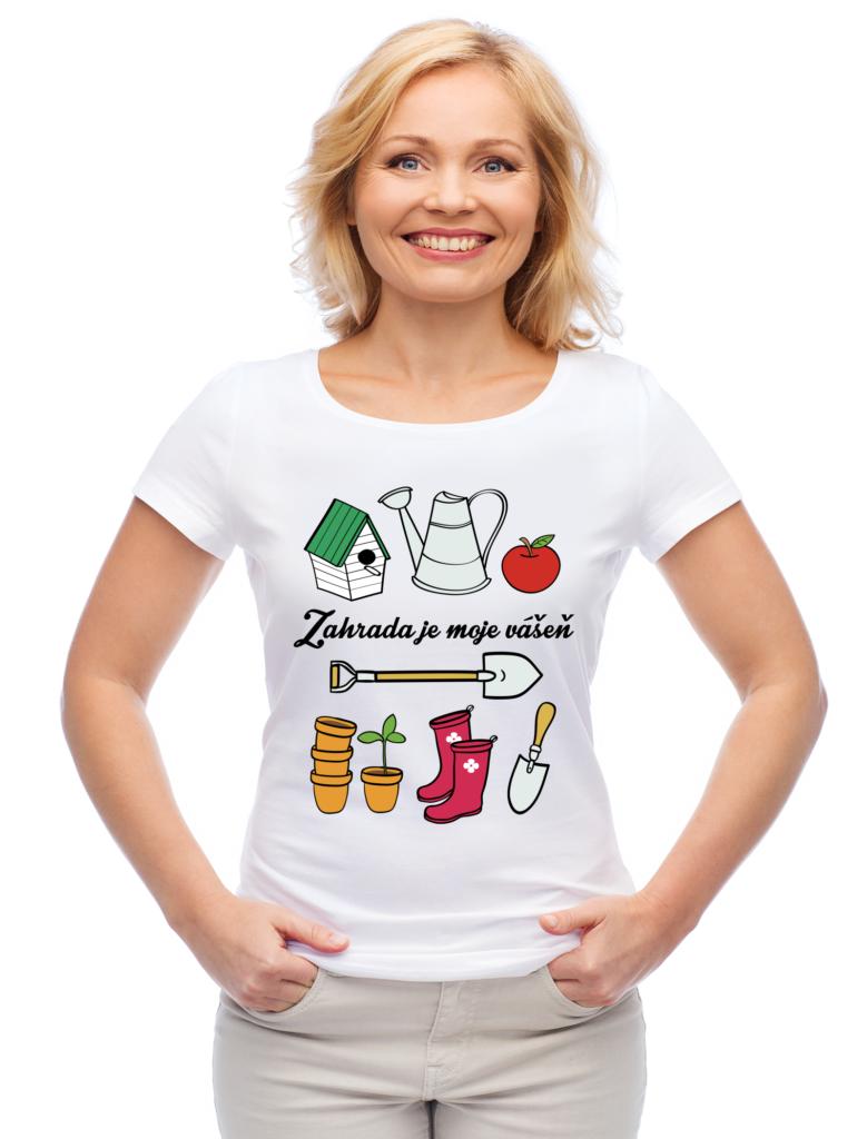 Dámské triko pro zahradnice