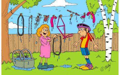 Na tu letošní sezónu jsem Ti pořádně umyla kolo