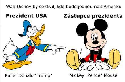 Vtip prezident USA