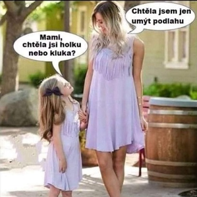 Jak vznikla holčička