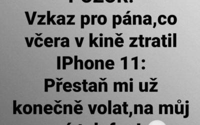 Můj nový iPhone