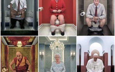 Papež na WC
