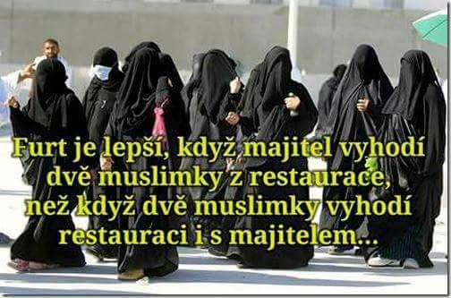 Majitel vyhodí muslimky z restaurace