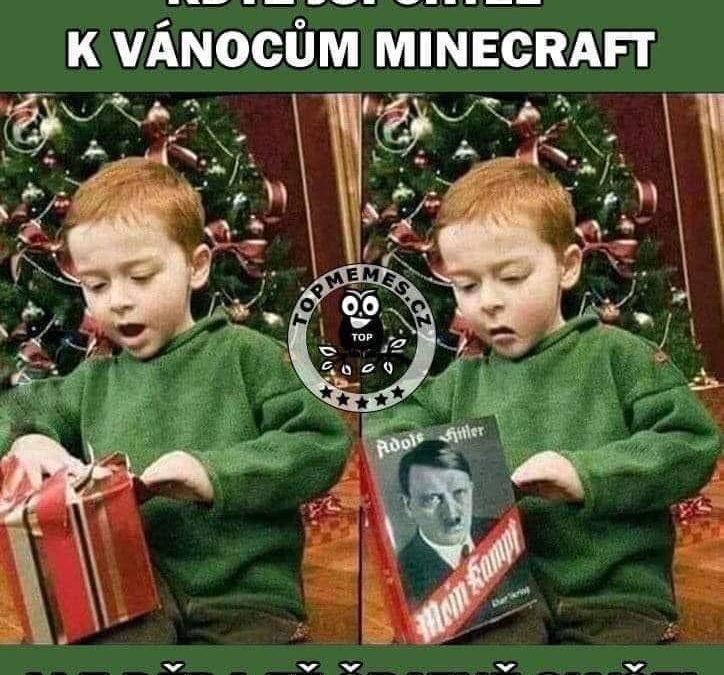 Když jsi chtěl k Vánocům Minecraft