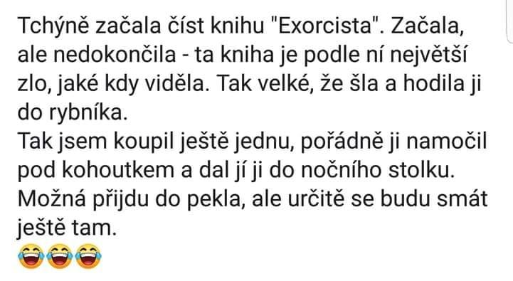 Kniha Exorcista
